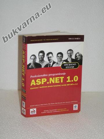 ASP.NET 1.0  DRUGA KNJIGA