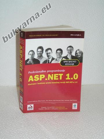 ASP.NET 1.0  PRVA KNJIGA