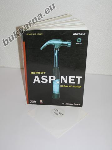 Knjiga ASP.NET – priložen CD