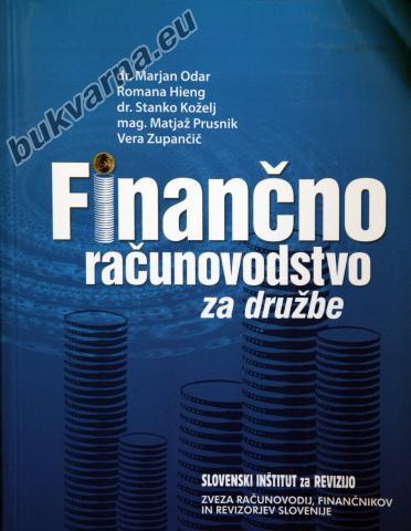 Finančno računovodstvo za družbe