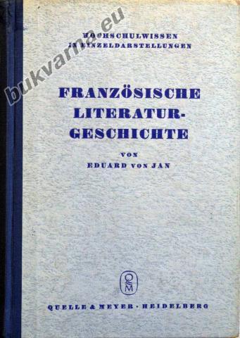 Francozische Literaturgeschichte in Grundzugen