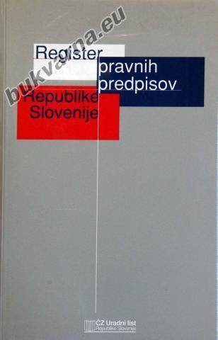 Register pravnih predpisov Republike Slovenije 1997