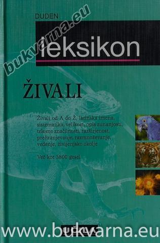 Duden leksikon Živali