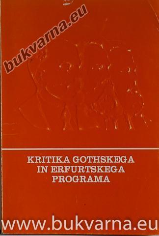 Kritika Gothskega in Erfurtskega programa