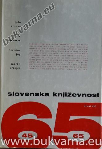 Slovenska književnost (dve knjigi)