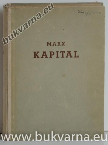 Kapital 1.zvezek