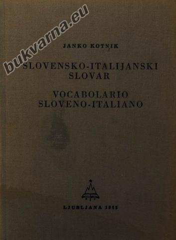 Slovensko-italijanski slovar