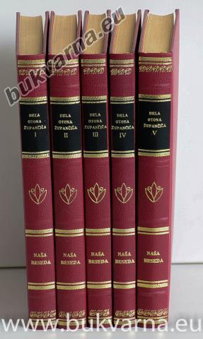 Dela Otona Župančiča (5 knjig)