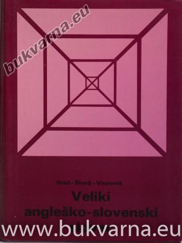 Veliki angleško-slovenski slovar