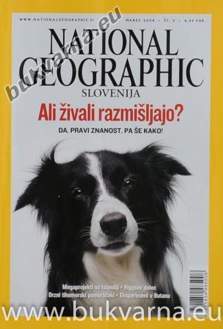 National Geographic Marec 2008 št.3