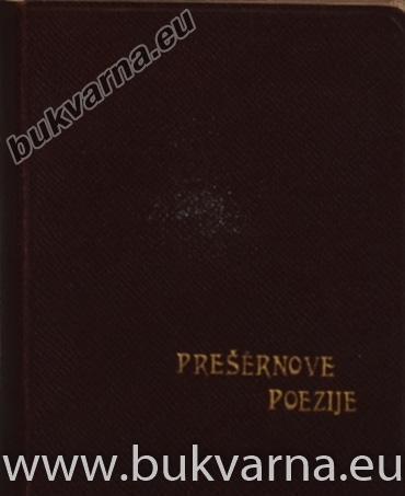 Prešernove Poezije