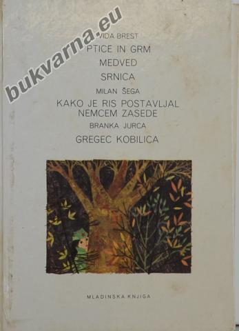 Ptice in grm in druge zgodbe