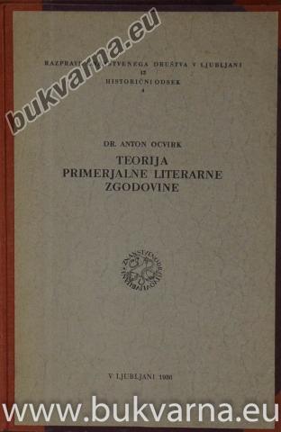 Teorija primerjalne literarne zgodovine
