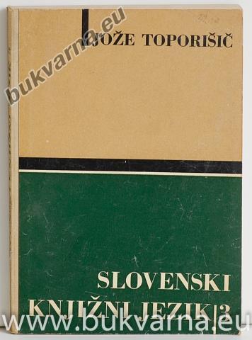 Slovenski knjižni jezik 3