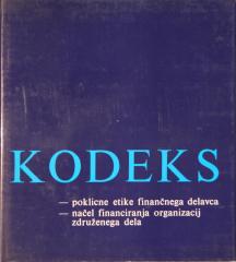 Kodeks poklicne etike finančnega delavca