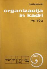 Organizacija in kadri