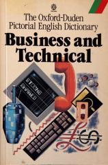 The Oxford- Duden Pictorial English Dictionary, Business and Technical