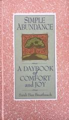 Simple abundance,  A Daybook of Comfort and Joy