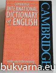 International dictionary of English CAMBRIDGE