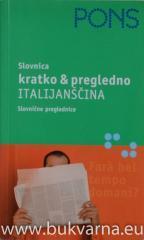 Kratko in pregledno ITLIJANŠČINA slovnica PONS