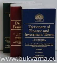 Dictionary of Accounting Terms Dictionary of Business Terms Dictionary of Finance and Investment Terms
