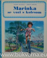 Marinka se vozi s kolesom