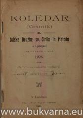 Koledar (Vestnik) 1926