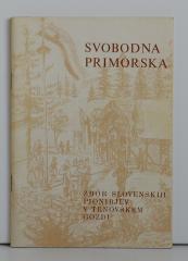 Svobodna Primorska, zbor slovenskih pionirjev v Trnovskem gozdu