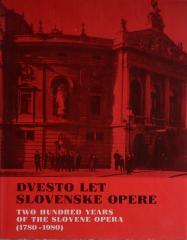 Dvesto let slovenske opere
