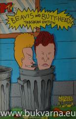 Beavis and Butt-head trashcan edition