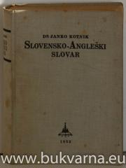 Slovensko angleški Angleško slovenski slovar