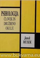 Psihologija Človek in družbeno okolje