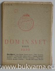 Dom in svet letnik 1926