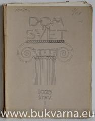 Dom in svet letnik 1925